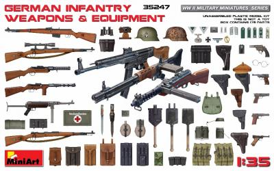 35247 - German Infantry WWII equipment and weapons