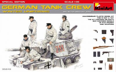 35249 - German Tank Crew in winter uniforms WWII Special Edition