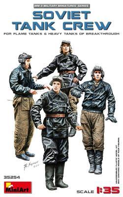35254 - Soviet tank crew WWII
