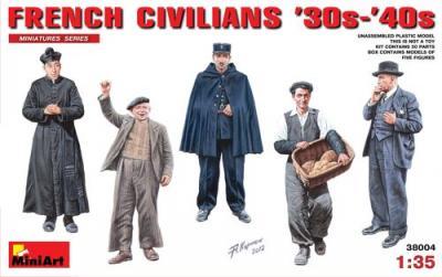 38004 - French Civilians 1930s-40s