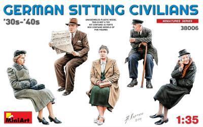 38006 - Sitting Passengers '30s-'40s