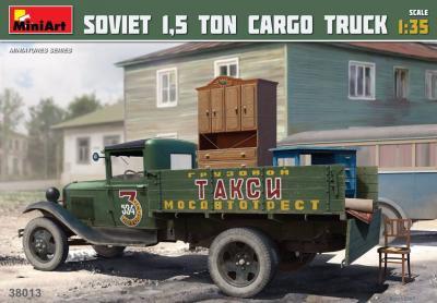 38013 - Soviet 1,5 Ton Cargo Truck