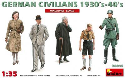 38015 - German Civilians 1930's 1940's
