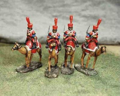 FRC80 - French Camel Corps, 4 Camels and Riders (was FS NF-19) 1/72