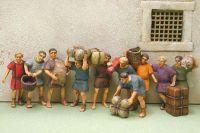 NIK-ROM 04 - Roemische Zivilisten - sitzend 1 1/72