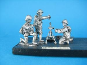 NL 01 - Mortar with crew 1/72