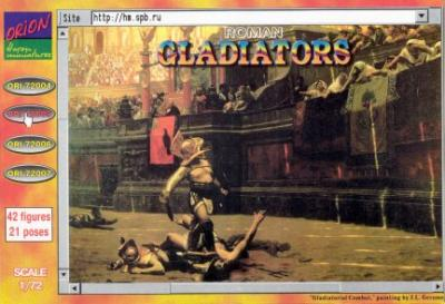72005 - Gladiators 1/72