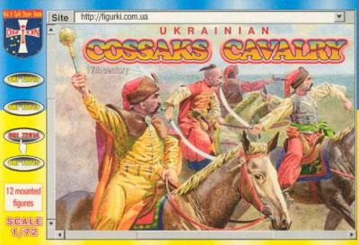 72014 - Cossack Cavalry 1/72