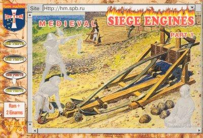 72015 - Medieval Siege Engines Part 1 1/72