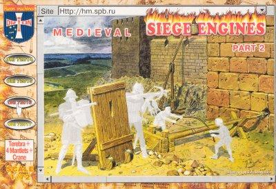 72016 - Medieval Siege Engines Part 2 1/72