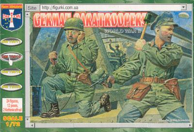 72018 - German Paratroopers 1/72
