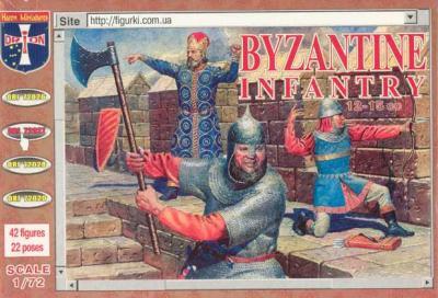 72027 - Byzantine Infantry (12th - 15th Century) 1/72