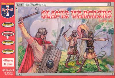 72028 - Slavic Warriors 1/72
