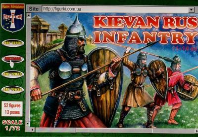 72032 - Kievan Rus Infantry 1/72
