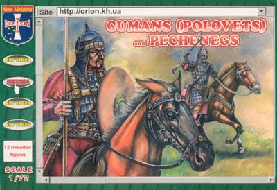 72034 - Cumans (Polovets) and Pechenegs 1/72