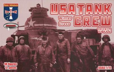72050 - USA Tank Crew (Winter Dress) WWII 1/72