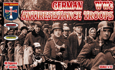 72054 - German anti-resistance troops WWII 1/72