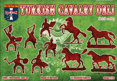 72055 - Turkish Cavalry (Deli) XVI-XVIIc. 1/72