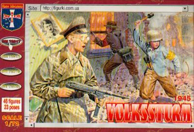 72017 - Volkssturm 1/72