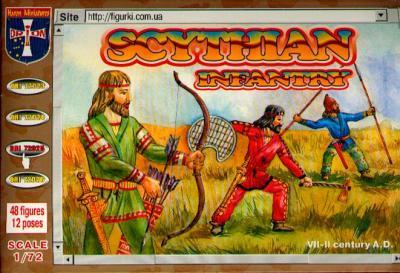 72025 - Scythian Infantry 1/72