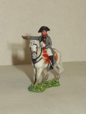 JS72/0162 - Napoléon à cheval 1/72