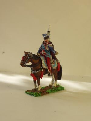 JS72/0275 - Poniatowski à cheval 1/72