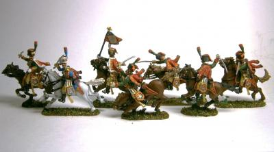 MC010 Imperial Guard Horse Chasseurs at 1/72