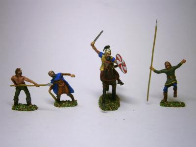 AR50 Germains/Celtes au combat 1/72