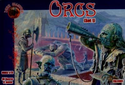 72001 - Orcs set 1 1/72