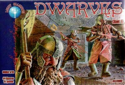 72007 - Dwarves set 1 1/72