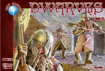 72008 - Dwarves set 2 1/72