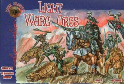 72009 - Light Warg Orcs 1/72