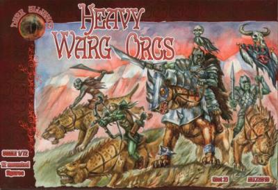 72010 - Heavy Warg Orcs 1/72