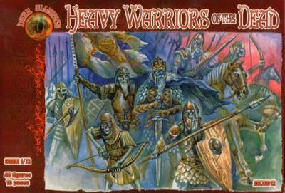 72012 - Heavy Warriors of the dead 1/72