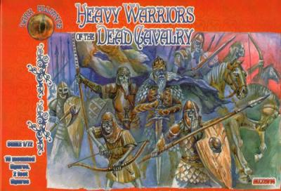 72014 - Heavy Warriors of the dead cavalry 1/72