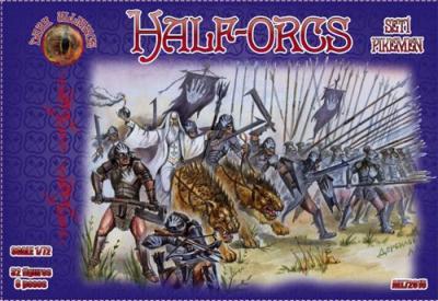 72015 - Half Orcs set 1 1/72