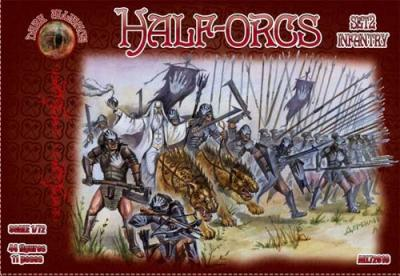72016 - Half Orcs set 2 1/72