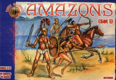 72020 - Amazons Set 1 1/72