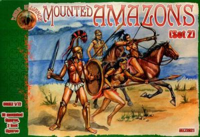 72021 - Mounted Amazons 1/72