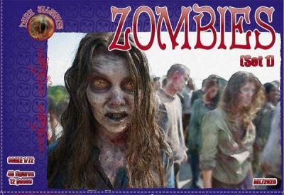 72023 - Zombies set 1 1/72