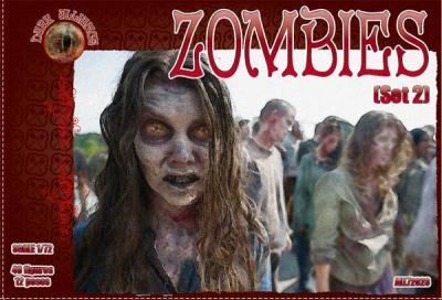 72024 - Zombies set 2 1/72