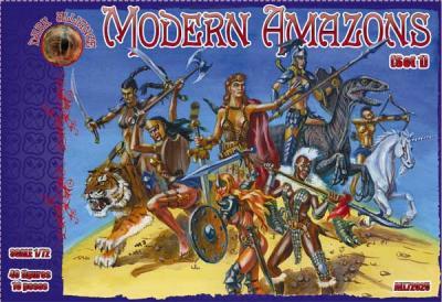 72025 - Modern Amazons set 1 1/72