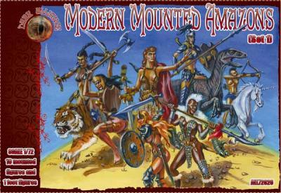 72026 - Modern Mounted Amazons 1/72