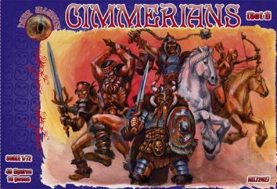 72027 - Cimmerians set 1 1/72