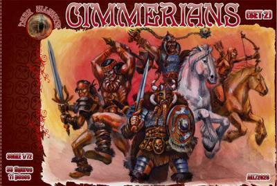 72028 - Cimmerians set 2 1/72
