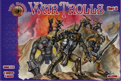 72030 - War Trolls Set 1 1/72