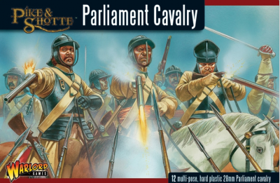 WG-ECW-6 Pike and Shotte - Parliament Cavalry 28mm