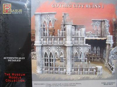 Gothic City Ruins (Set 1)