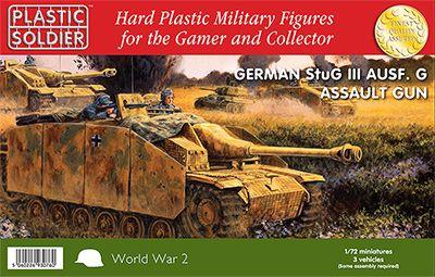 WW2V20008 - Sturmgeschutz/StuG III Assault Gun 1/72