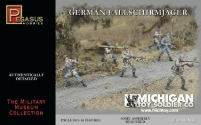 3204 - WWII German Fallschirmjäger